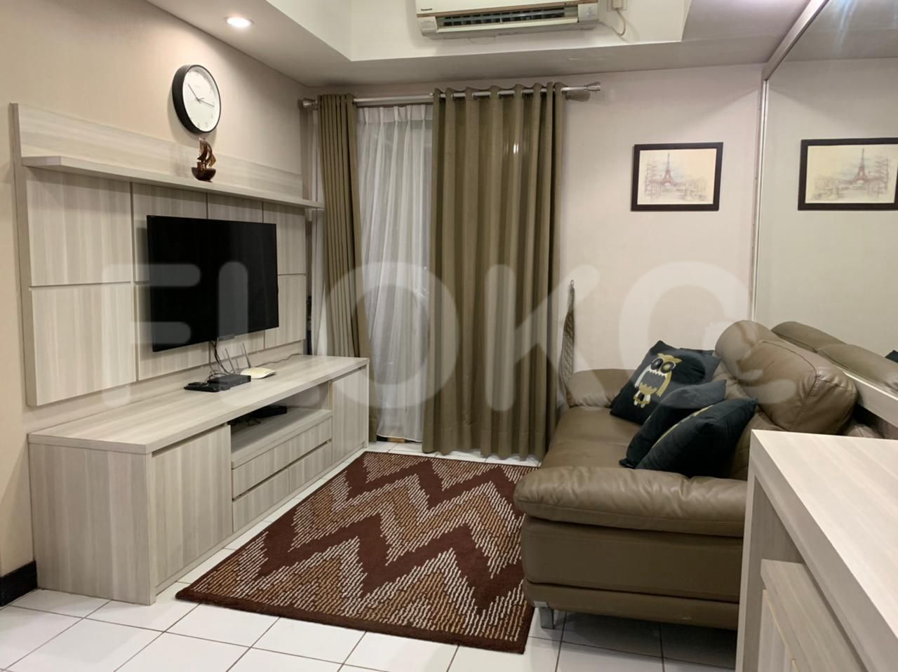 Rent 2 BR on 9th Floor, Pay Monthly, The Wave Apartment
