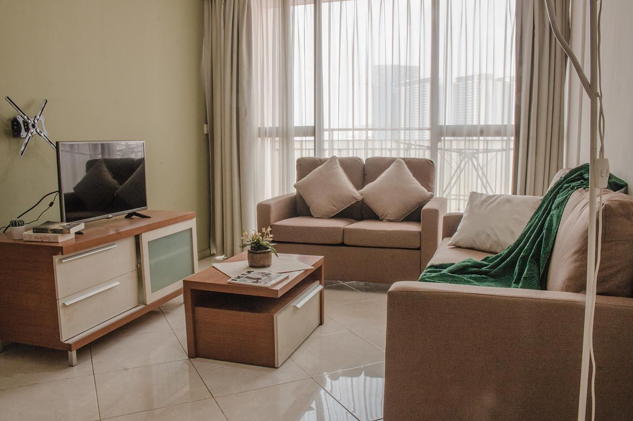 Rent 2 BR on 2nd Floor, Pay Monthly, Taman Rasuna Apartment