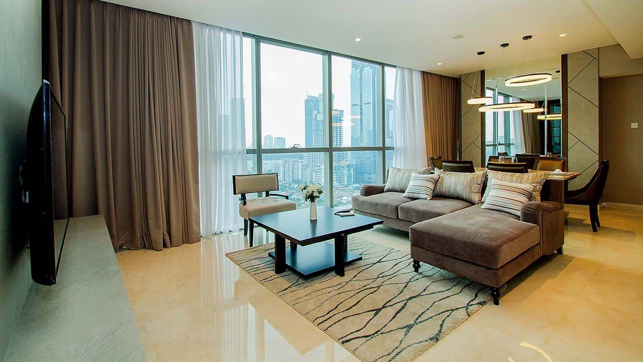 Rent 3 BR on 22nd Floor, Pay Monthly, Casa Domaine