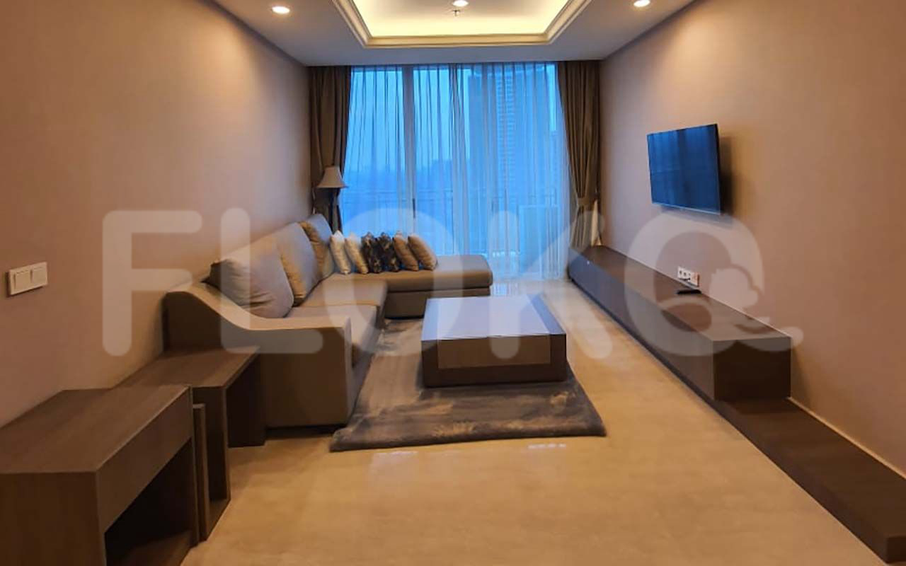 Rent 2BR on 25th Floor, Pay Monthly, The Pakubuwono House