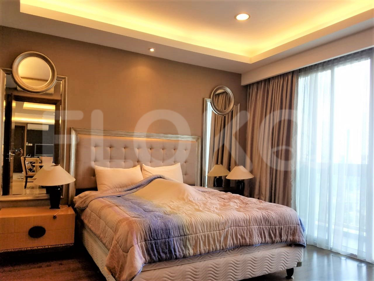 Rent 2 BR on 10th Floor, Pay Half Yearly, The Mansion at Kemang