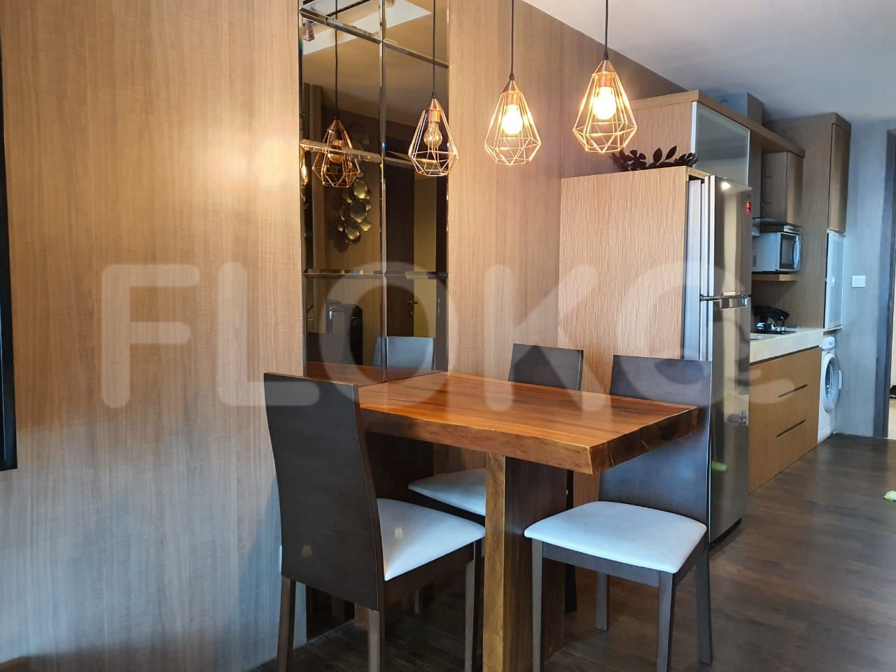 Rent Studio on 12th Floor, Pay Monthly, Kemang Village Residence