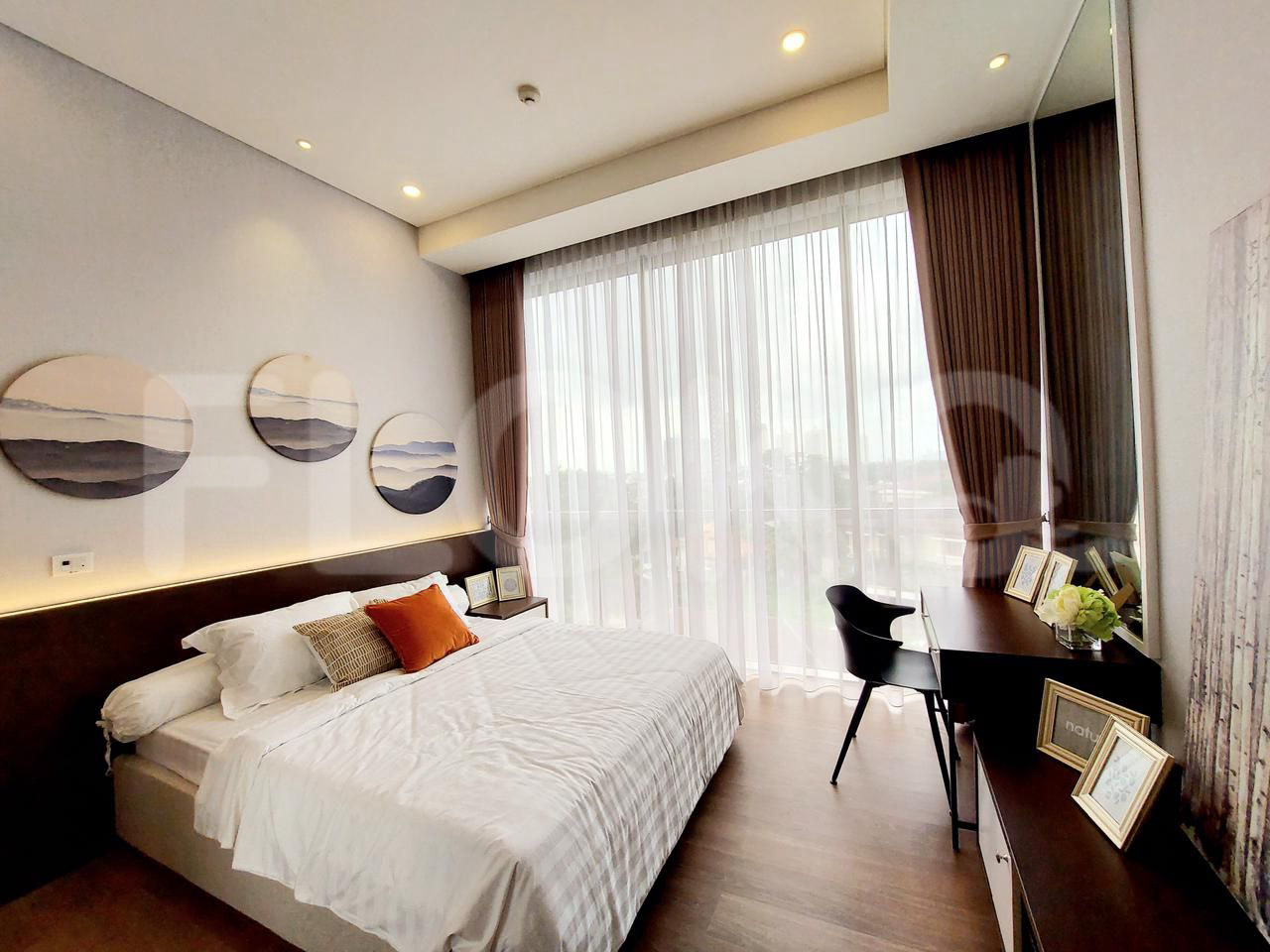 Rent 2BR on 16th Floor, Pay Yearly, The Pakubuwono Spring